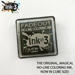 Fadeout No Line Coloring, Ink on 3 Ink Cubes -