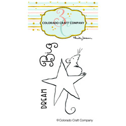 Dream Big Mini by Anita Jeram, Colorado Craft Company Clear Stamps -