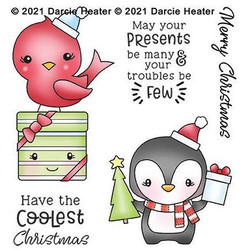 Coolest Christmas, Darcie's Clear Stamps -