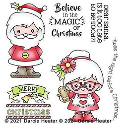 Christmas Magic, Darcie's Clear Stamps -
