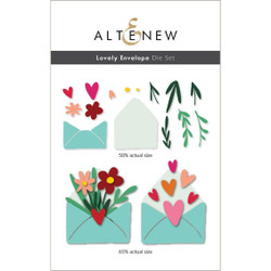 Lovely Envelope, Altenew Dies -