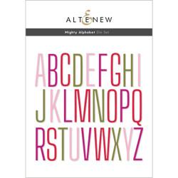 Mighty Alphabet, Altenew Dies -