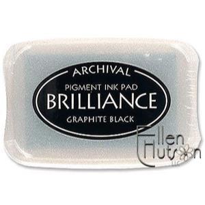 Brilliance Ink Pad, Graphite Black -