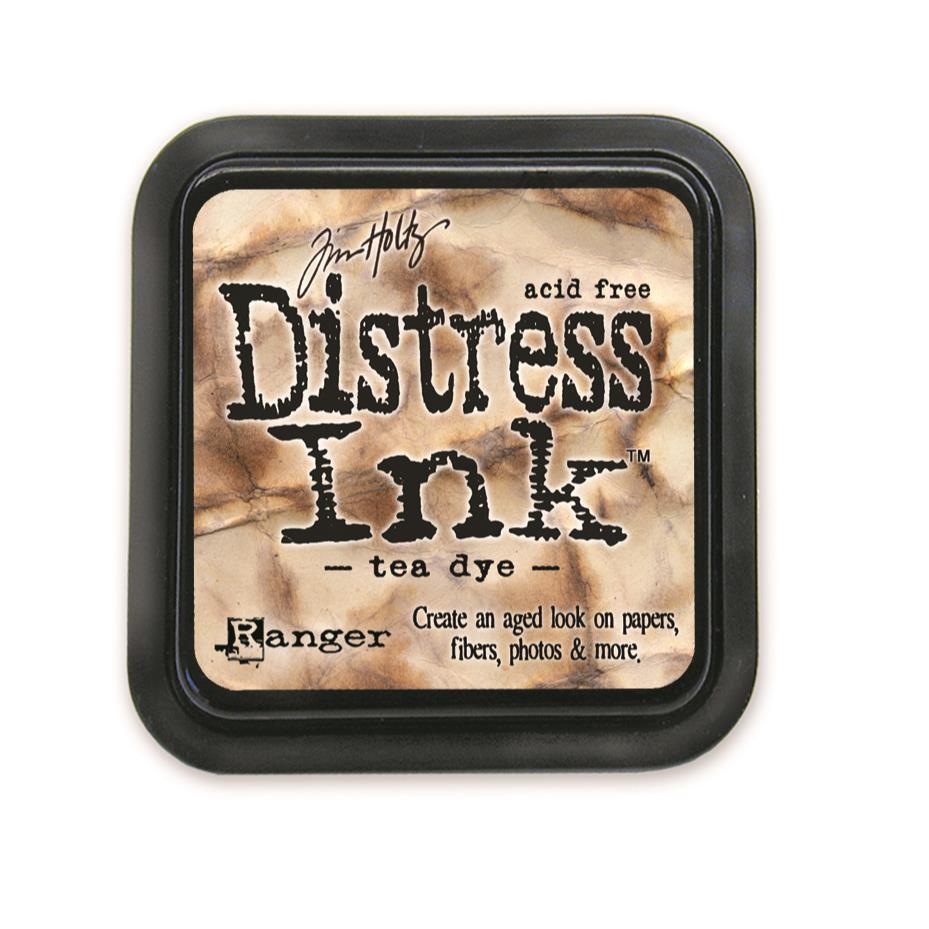 Tea Dye, Ranger Distress Ink Pad -