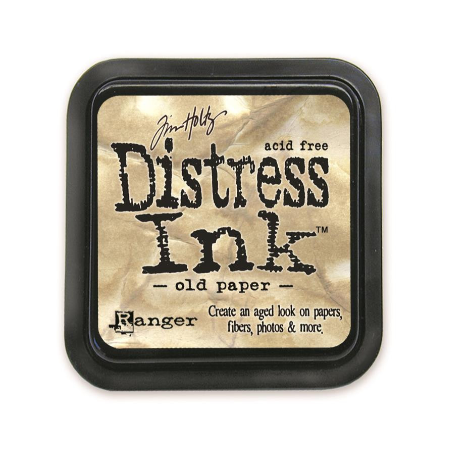 Old Paper, Ranger Distress Ink Pad -