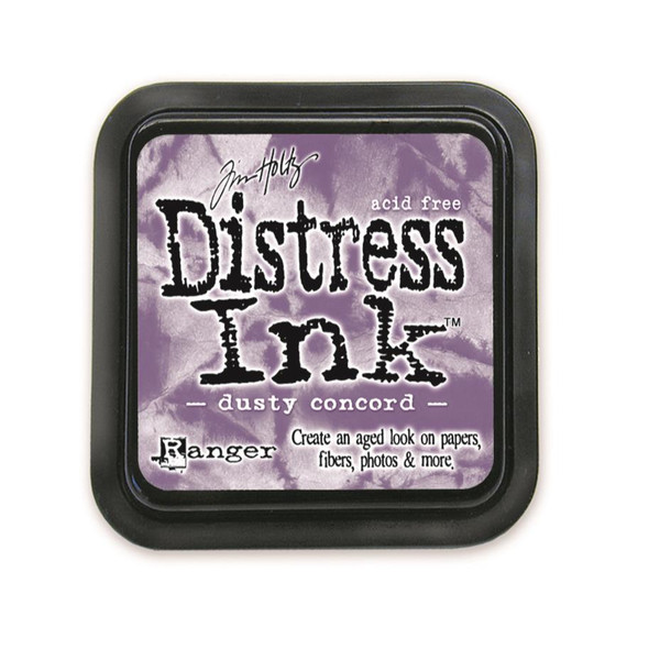 Dusty Concord, Ranger Distress Ink Pad -