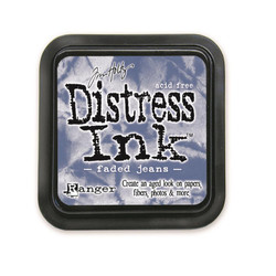 Faded Jeans, Ranger Distress Ink Pad -