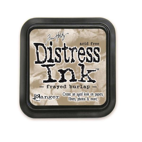 Frayed Burlap, Ranger Distress Ink Pad -