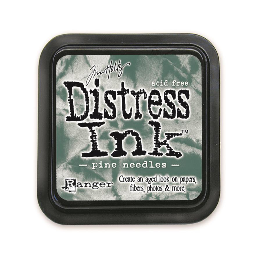 Pine Needles, Ranger Distress Ink Pad -