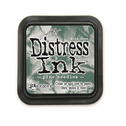 Pine Needles, Ranger Distress Ink Pad -