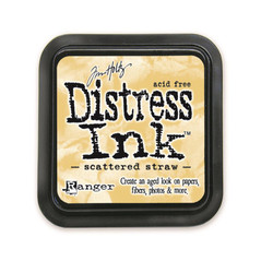 Scattered Straw, Ranger Distress Ink Pad -