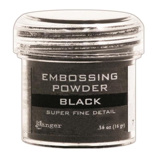 Ranger Super Fine Embossing Powder, Black -