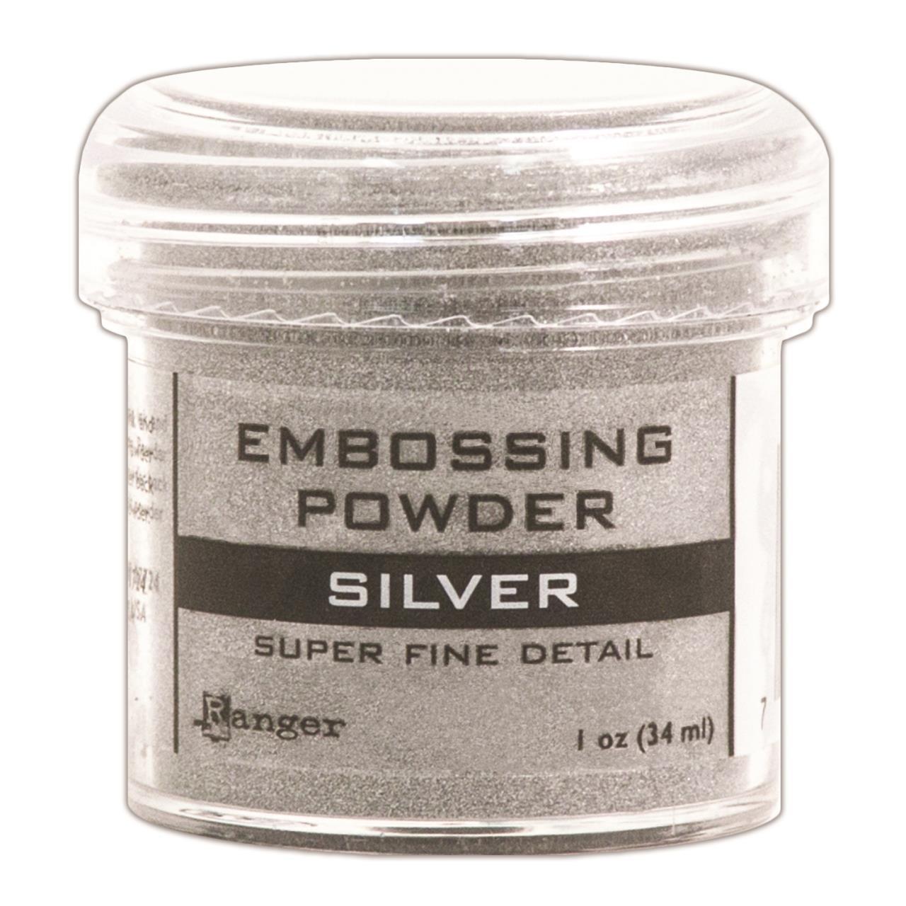 Ranger Super Fine Embossing Powder, Silver -