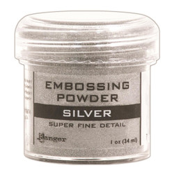 Ranger Super Fine Embossing Powder, Silver -
