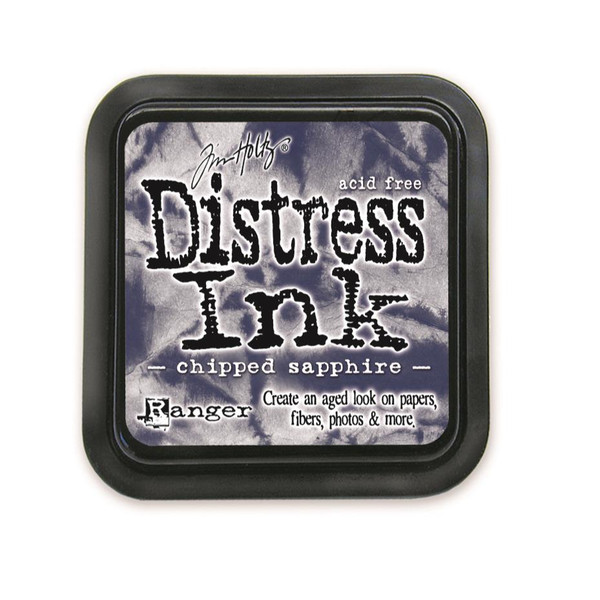 Chipped Sapphire, Ranger Distress Ink Pad -