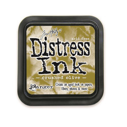 Crushed Olive, Ranger Distress Ink Pad -