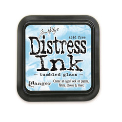 Tumbled Glass, Ranger Distress Ink Pad -