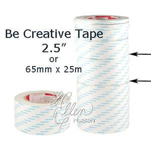 """65mm (2.5""""), Be Creative Tape - 049008760493"""