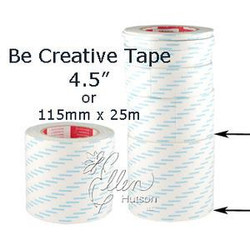 115mm (4.5'), Be Creative Tape -