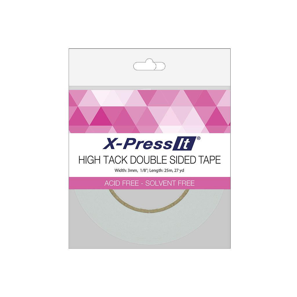 X-Press It High Tack Double-Sided Tape, 1/8 in -