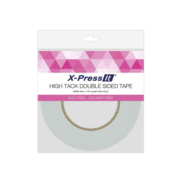 X-Press It High Tack Double-Sided Tape, 1/4 in -
