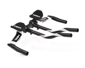 Corsair E Flat Aerobar with Carbon Lazy S-Bend Extensions