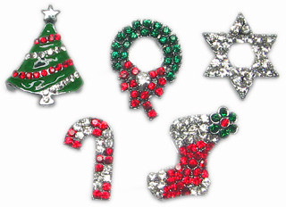 Christmas Slide Charms