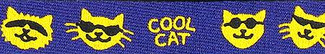 Cool Cat Beastie Band Cat Collar