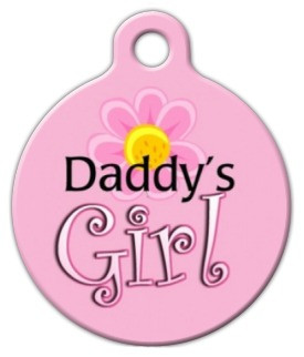 Daddy's Girl Dog ID Tag-Cat ID Tag