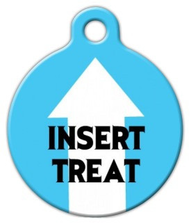 Insert Treat Dog ID Tag-Cat ID Tag