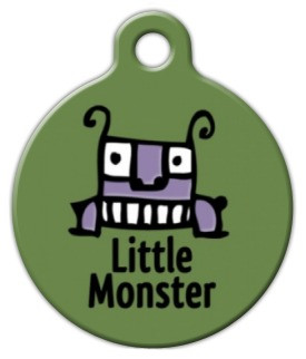 Little Monster Dog ID Tag-Cat ID Tag