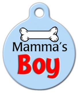 Mamma's Boy Dog ID Tag-Cat ID Tag