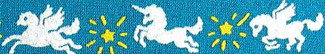 Magical Unicorn Beastie Band Cat Collar