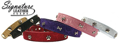 Suede Dog Collars