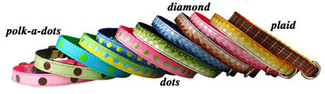 Ribbon Pocket Pups Dog Collars