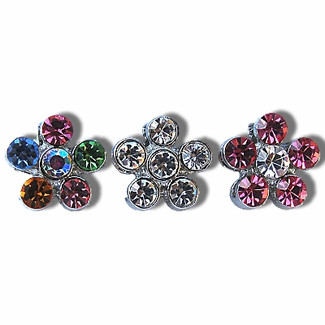 Slide Flower Charms