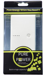 Pure Power Power Bank  20000mah Portable Dual USB Charger For iPad, iPad 2/3, iPhone 5, iPhone 4, iPhone 4s, iPod, Blackberry, Htc, Android, Samsung Batteries Pack Charger Power