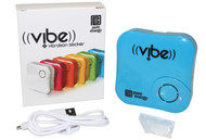 Pure Energy Vibe - Vibration Speaker Sticker Blue
