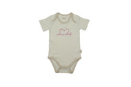 Eotton Certified Organic Cotton Toddler Bodysuit - Sweet Baby