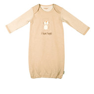 Eotton Certified Organic Cotton Long Sleeve Baby Shirt