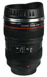 Camera Eos 24-105Mm Model StainlessThermos Caniam Camera Lens Coffee Cup, Travel Mug