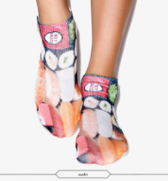 Sushi One Size Fits All Ankle Polyester Socks Multi Color