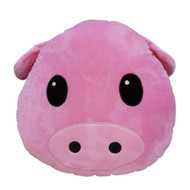 Emoticon Emoji Pink Cushion Pillow Stuffed Plush Toy Piggy