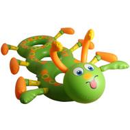 Rolling Aqua Inflatable Caterpillar Green