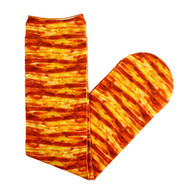 Bacon Socks One Size Fits All Maple