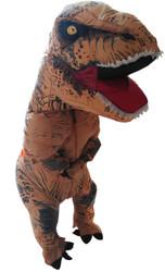 Skinz Adult Mega Suit Inflatable Zentai Costume - T-Rex Dinosaur