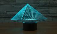 Phantom Lamps Pyramid 3D LED Illusion Lamp