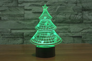 Phantom Lamps Christmas Tree 3D LED Illusion Lamp