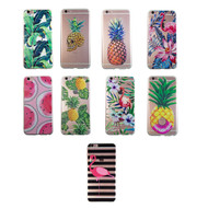 Sunology Exotic iPhone Silicone Transparent Soft Bumper Case
