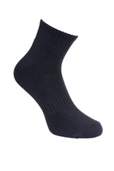 Barefoot Bamboo Unisex (Quarter) Cushion Ankle Socks  - Set of  2